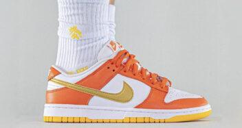 """Nike Dunk Low """"Golden Orange"""""""