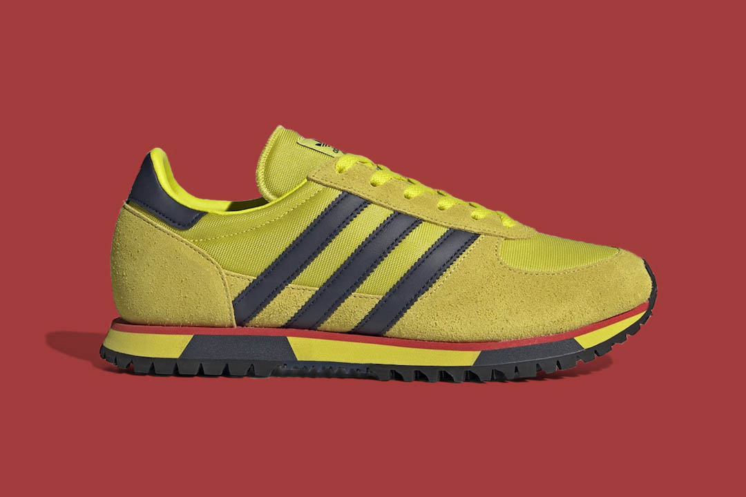 "adidas Marathon 86 SPZL ""Shock Lime"" H03893"