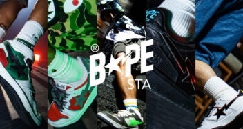 BAPE BLOCK STA HI and BAPE SK8 STA