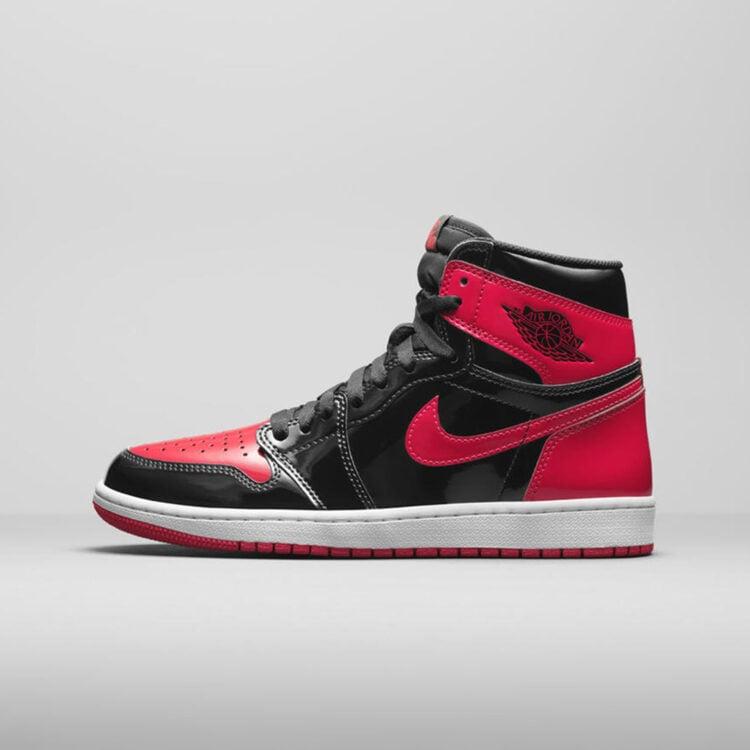 """Air Jordan 1 Retro High OG """"Patent Bred"""" 555088-063"""