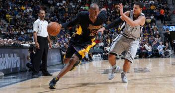 Kobe Bryant's Game Worn Kobe X Elite Hi-Top Sneakers