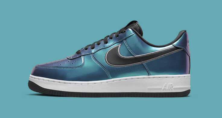 """Nike Air Force 1 Low """"Iridescent"""" DQ6037-001"""