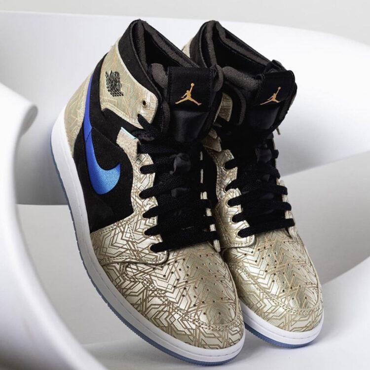 "Air Jordan 1 Zoom CMFT ""Gold Laser"" DQ0659-700"