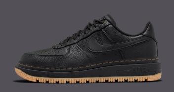 "Nike Air Force 1 Luxe ""Black Gum"" DB4109-001"