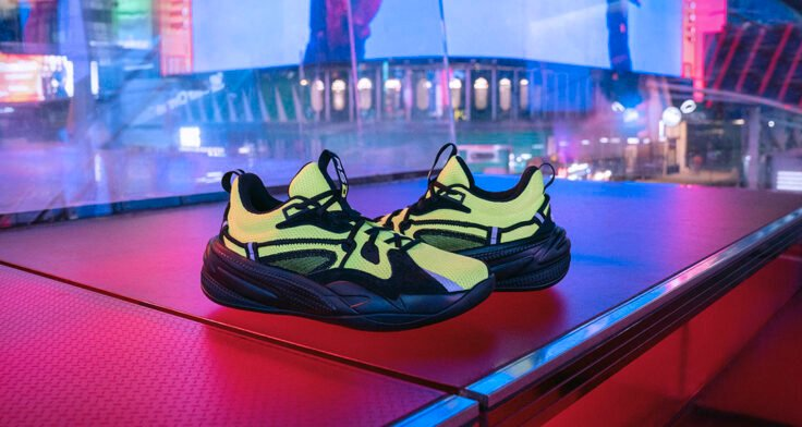 """J. Cole x PUMA RS-DREAMER """"Safety Yellow"""""""