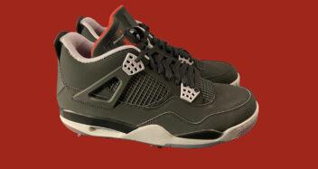 "Air Jordan 4 Golf ""Bred"""