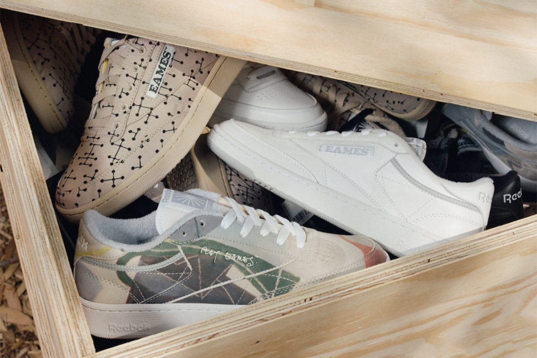 """Official Images: Eames x Reebok Club C """"Monotone Pack"""""""