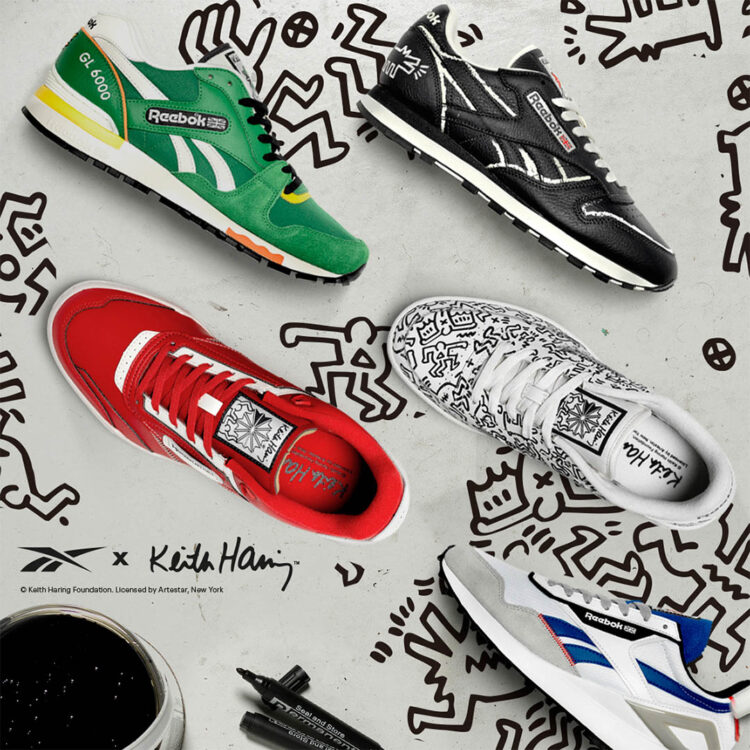 Keith Haring x Reebok 2021 Collection