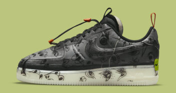 """Nike Air Force 1 Low Experimental """"Halloween"""" DC8904-001"""