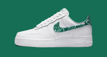 """Nike Air Force 1 Low """"Green Paisley"""" DH4406-102"""