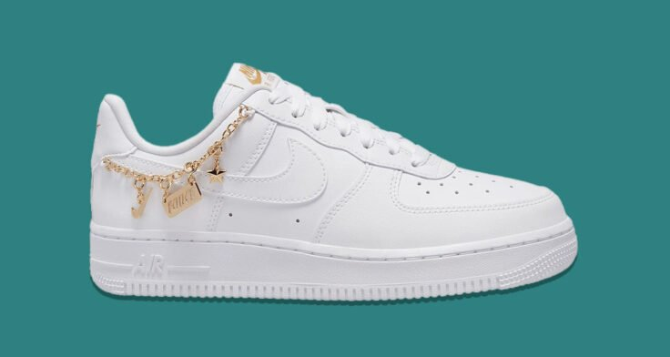 """Nike Air Force 1 Low LX """"Lucky Charms"""" DD1525-100"""