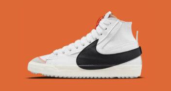 "Nike Blazer Mid '77 Jumbo ""White/Black"" DD3111-100"