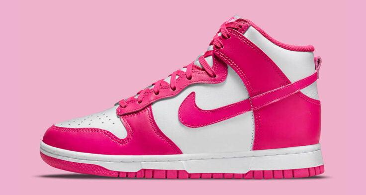 "Nike Dunk High WMNS ""Pink Prime"" DD1869-110"