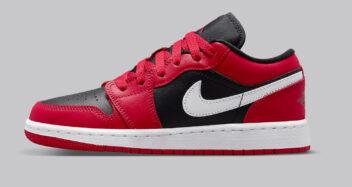 """Air Jordan 1 Low GS """"Very Berry"""" 553560-061"""