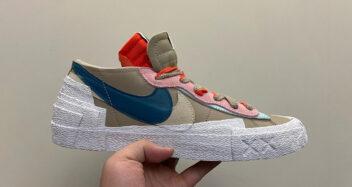 KAWS x sacai x Nike Blazer Low