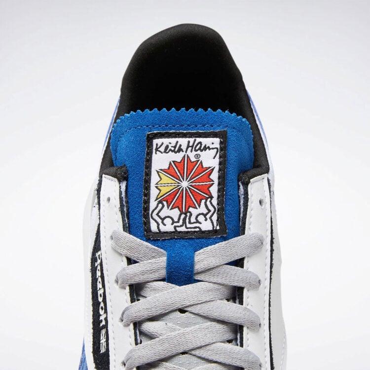Keith Haring x Reebok Classic Leather Legacy