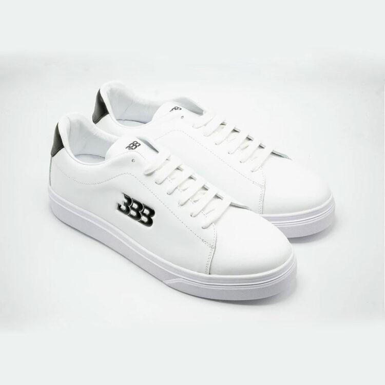 "BBB Luxury Sneaker ""Classic Whites"""