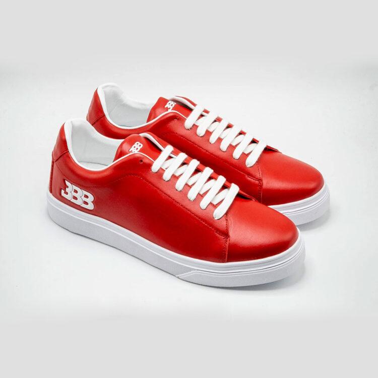 """BBB Luxury Sneaker """"Scorchin' Red"""""""