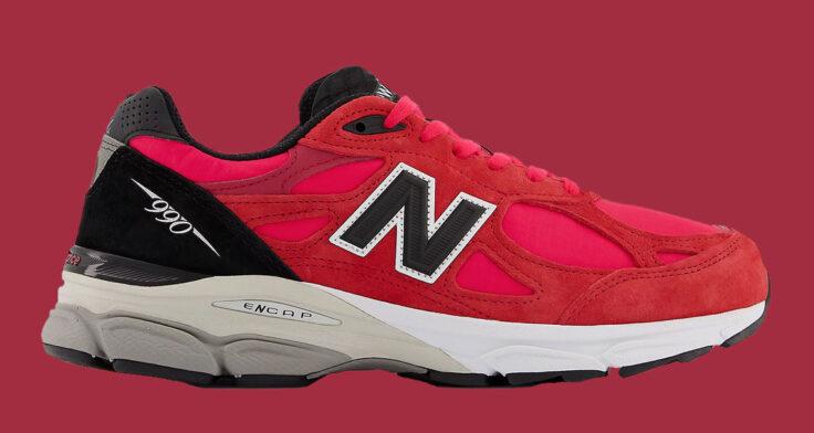 "New Balance 990v3 ""Red Suede"" M990PL3"