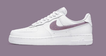 """Nike Air Force 1 Low """"Glitter Swoosh"""" DH4407-102"""
