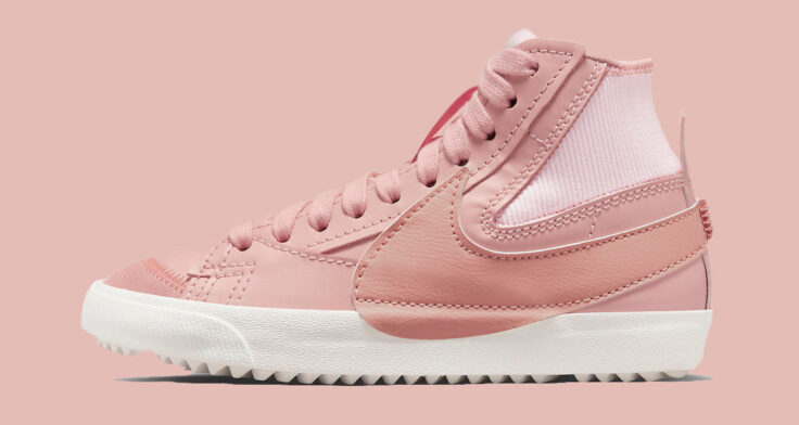 "Nike Blazer Mid '77 Jumbo ""Pink Oxford"" DQ1471-600"