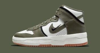 "Nike Dunk High Up ""Cargo Khaki"" DH3718-103"