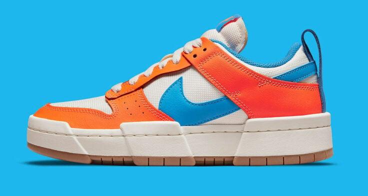 """Nike Dunk Low Disrupt """"Total Orange"""" CK6654-104"""