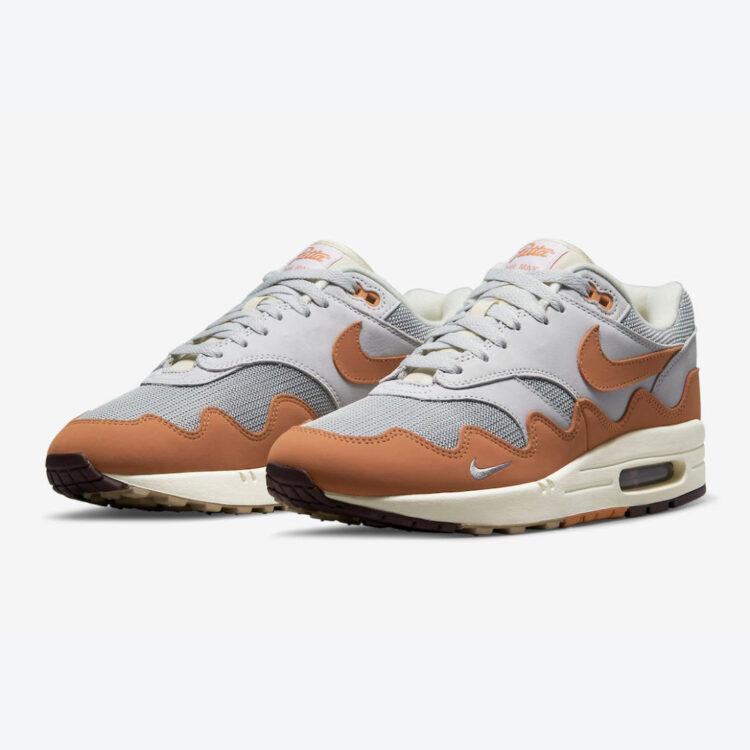 """Patta x Nike Air Max 1 """"Monarch"""" DH1348-001"""