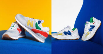"""STAUD x New Balance """"Classic Then, Classic Now"""" Pack"""